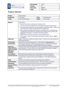Ms Office Project Governance Templates  Projectmanagementwatch