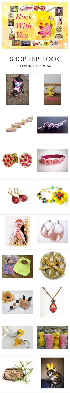 """""""Roch With You: Handmade & Vintage Gift Ideas"""" by paulinemcewen ❤ liked on Polyvore featuring Giallo, vintage and country"""
