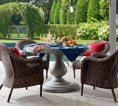 Tassel Trim Indoor/Outdoor Pillow #potterybarn