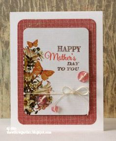 Happy Mother's Day Card by AJ Otto, w/ tutorial! #mothersday #cre8time
