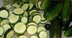 Het komkommerdieet - Crash dieet info