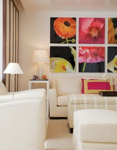 POW of color!  Interior Design bu Gauthier-Stacy; Photography by Sam Gray