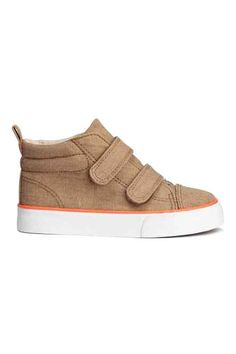 749845b081d Check this out! High tops in washed cotton canvas with a lightly padded  edge