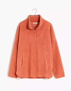 (Re)sourced Fleece Popover Tunic Jacket