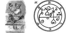 The 13 Easiest Demons To Summon - Frater Lucath Demon Spells, Dark Spells, Occult Symbols, Magic Symbols, Baphomet, Magick, Witchcraft, Summoning Demons, Real Magic Spells