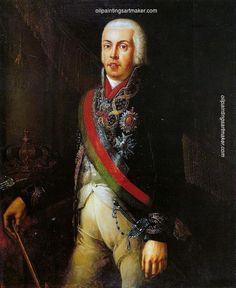 Domingos Sequeira Retrato de D. João VI - Domingos Sequeira, painting Authorized official website
