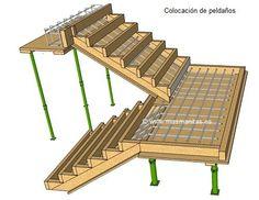 Escribo esta vez para pedir consejo de como plantear dos tramos de 8 peldaños para hacer una escalera en el exterior de una casa en construcción. La anchura de la escalera sería de 120 cm. Y tenemos idea de hacerla encofrada -rampa y peldaños todo a...