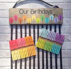 Birthday chart balloons - class birthdays - classroom decor - rainbow classroom - colorful classroom - kindergarten class - teacher gift This colorful class birthday graphic is the perfect way to show your student birthdays! Class Teacher, Teacher Gifts, Teacher Education, Classroom Teacher, Classroom Ideas, Ks2 Classroom, Teacher Presents, Classroom Supplies, Classroom Projects