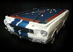 1965 Shelby GT-350 Pool Table 1