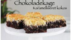Chokoladekage med Karamelliseret kokos