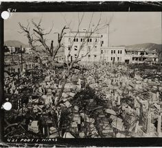 After the United States detonated an atomic bomb at Hiroshima on August 6, 1945, the U.S. government restricted the circulation of images of the bomb's deadly effect. President Truman dispatched some 1,150 military personnel and civilians, including photographers, to record the destruction as part of the United States Strategic Bombing Survey. The goal of the Survey's Physical Damage Division was to photograph and analyze methodically the impact of the atomic bomb on various building…