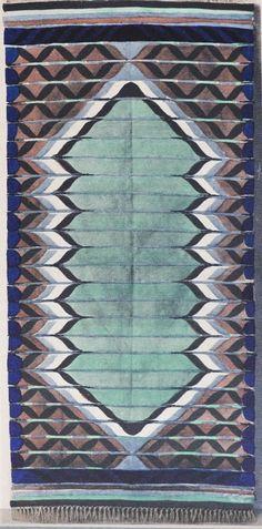 Vintage rug illustrations from the flea market Barcelona