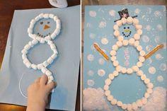 10 bricolages et expériences de Noël - Page 10 - Activités - Grandes fêtes -. Kids Crafts, Winter Crafts For Kids, Christmas Activities, Christmas Crafts For Kids, Toddler Crafts, Preschool Crafts, Kids Christmas, Diy For Kids, Holiday Crafts