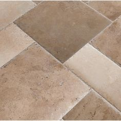 MSI Tuscany Beige Pattern Honed-Unfilled-Chipped Travertine Floor and Wall Tile Kits / 80 sq. Tuscany Kitchen Colors, Shower Floor, Tile Floor, Bathroom Remodel Cost, Travertine Floors, Mosaic Wall Tiles, New House Plans, Bedroom Flooring, Outdoor Living Areas
