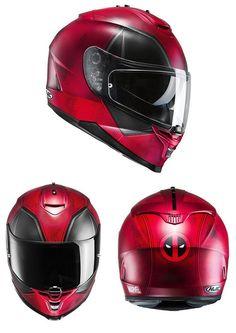 Marvel Deadpool Limited Edition Motorcycle Helmet