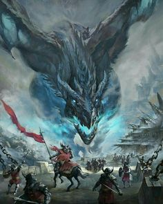Viserion dragon from Game of Thrones by artist and illustrator Mumu Mei Dark Fantasy Art, Fantasy Artwork, Fantasy Concept Art, Fantasy Kunst, Digital Art Fantasy, Dragon Medieval, Medieval Fantasy, Magical Creatures, Fantasy Creatures