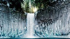 Oregon's Icy Spectacle, Outside Magazine. Photo: Joshua Meador.