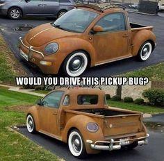 Volkswagen – One Stop Classic Car News & Tips Vw Pickup, Pickup Trucks, Custom Trucks, Custom Cars, Combi Wv, Volkswagen New Beetle, Wooden Car, Vw Cars, Buggy