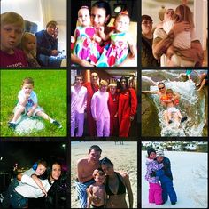 Chester Bennington and his family