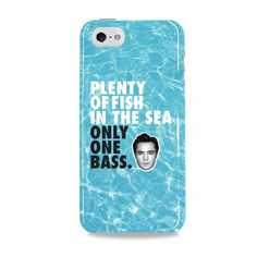 """Ed Westwick's """"Plenty of Fish In The Sea. Only One Bass"""" Phone Cases!  Plenty of Fish In The Sea. Only One Bass.   A portion of the proceeds goes to the Ocean Foundation dedicated to preserving the ocean environments around the world.   Available styles (select in drop-down!):  iPhone 5/5S, 6 & 6+  Samsung Galaxy S4/S5  Samsung Note 3/4   WORLDWIDE SHIPPING"""