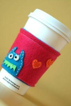 monster coffee sleeve