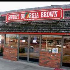 Sweet Georgia Brown - soul food restaurant. We drove about 45 min from our suburb to South Dallas. Huge portion sizes. You don't go there for the ambience... you go for the good cookin'! - VJ