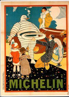 L'Affiche de René Vincent de 1912