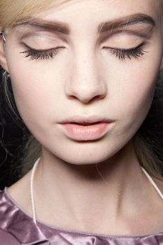 From Runway to Real Way: Marc Jacobs' Bold Brow Brow Shaper, Eyebrow Trends, Thick Brows, Full Brows, Caking It Up, How To Do Nails, Get The Look, Eyebrows, Marc Jacobs