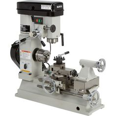 Klutch Lathe, Milling and Drilling Machine — 1/2 HP, 110V Motor | Lathes| Northern Tool + Equipment