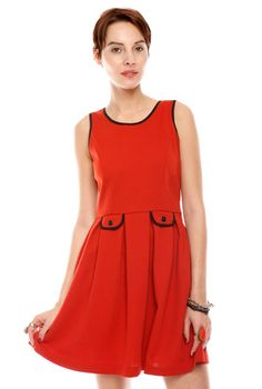 How to wear the little red dress, perfect for Valentine's Day!