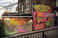 Broken Fingaz – New Murals in London