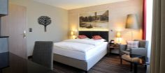 Double Room Economy - also used as Single Business Room. Website Hotel, Double Room, Rooms, Restaurant, Business, Bed, Inspiration, Furniture, Home Decor