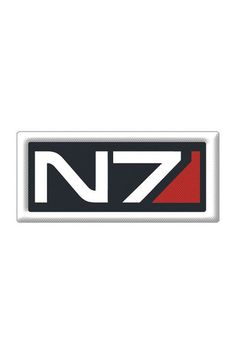 Mass Effect: N7 Logo Embroidered Patch