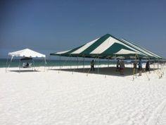 July 4th Lido Beach Sarasota Tent Rental
