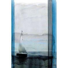 Parvez Taj Sails Art Print on Premium Canvas, Size: 24 inch x 36 inch, Multicolor