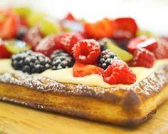 James Martin's French fruit tart