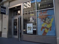 ART:  Cartoon Art Museum  655 Mission Street