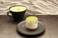 Tasting healthy – a café in Seoul specializing in green tea drinks and desserts