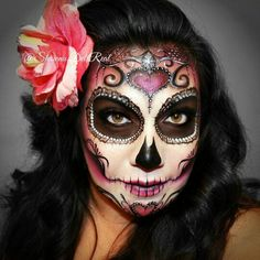 Shawna del Real is the queen of Sugar Skull Face Painting