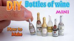 tutorial: miniature bottles of wine
