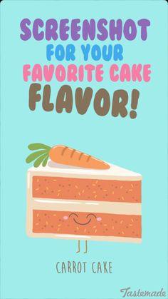 Tastemade media illustrations on snapchat. Carrot cake illustration drawing