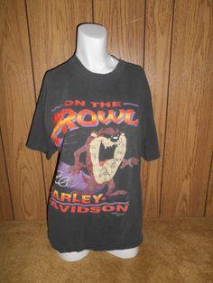 Vintage 90s HARLEY DAVIDSON tee t shirt by ATELIERVINTAGESHOP, $35.00