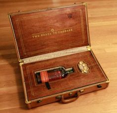 Two Roads To Courage: A Suitcase Filled with Brass Knuckles and Whisky