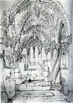 [A3N] : The Chapel of Roslin / John Ruskin