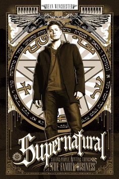Ryan Huddle | Supernatural Poster Set by Ryan Huddle