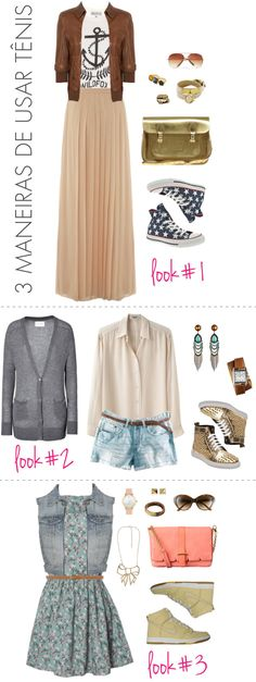 will definitely be trying these three looks this summer!!! This is perfect  for 62e0f9fb7c2