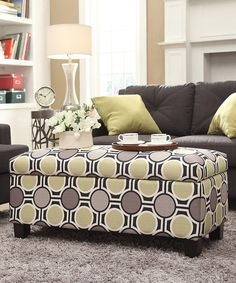 Look at this Mod Circles Willoughby Storage Bench.