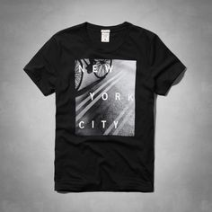 Mens - New York, NY Photoreal Graphic Tee | Mens - Graphic Tees | eu.Abercrombie.com