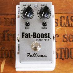 Fulltone Fat Boost 3 | Available at Garrett Park Guitars | www.gpguitars.com