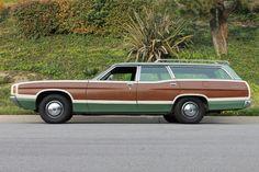 Ford Ltd, Woody Wagon, Wood Vinyl, Family Road Trips, Family Adventure, Roof Rack, Station Wagon, Rear Window, Rear Seat